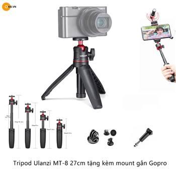 Tripod Ulanzi MT-08 mini cho Gopro, Pocket, Action