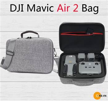 Túi chống sốc Mavic Air 2 đựng full phụ kiện màu xám