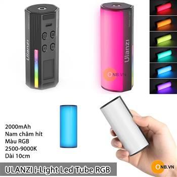 Ulanzi i-Light Led Tube RGB - Led chỉnh màu - Độ K - 2000mAh