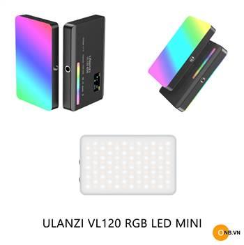Ulanzi VL120 LED RGB - Đèn led Mini chỉnh màu pin 3100mAh