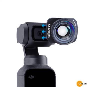 ULANZI Wide Angel Lens - Ống kính gốc rộng Osmo Pocket mới 2020