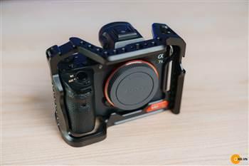 Uurig Cage A7III A7II - Khung máy ảnh Vlog cho Sony A72- A73