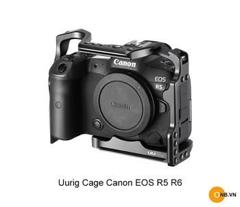 Uurig Cage Khung bảo vệ Canon EOS R5-R6 mẫu mới 2021
