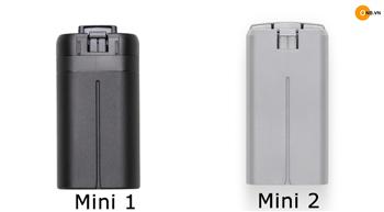 Vấn đề dùng Pin Mavic Mini 1 và Mavic Mini 2 có tương thích nhau ?