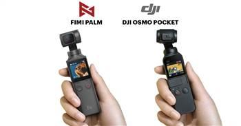Video So sánh thực tế Fimi Palm Vs Osmo Pocket góc nhín, chống rung, micro, màu sắc