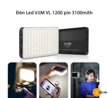 VIJIM VL 120 - Đèn led mini độ sáng cao pin 3100mAh